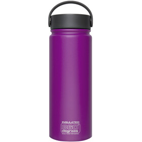 360° degrees Wide Mouth Insul Drink Bottle 550ml Purple